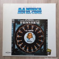 Discos de vinilo: MUSICA, LP, LP´S, DISCO VINILO, THE BOY FRIEND, EL NOVIO, TWIGGY, BANDA SONORA, CINE. Lote 135629199