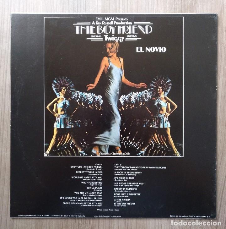 Discos de vinilo: Musica, LP, LP´S, disco vinilo, the boy friend, el novio, twiggy, banda sonora, cine - Foto 2 - 135629199