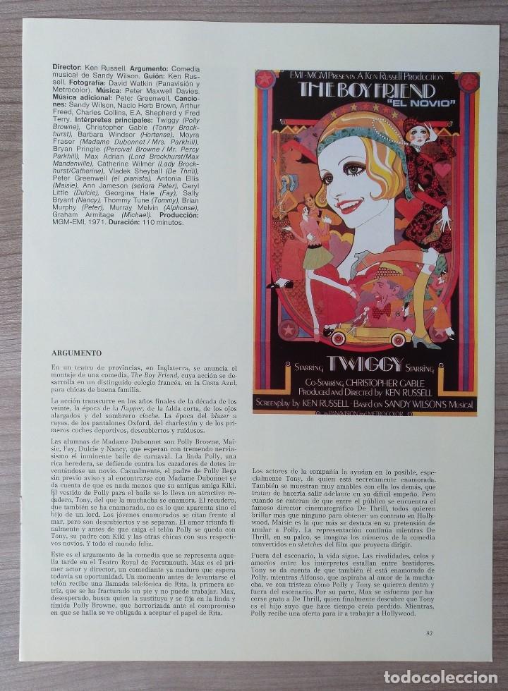 Discos de vinilo: Musica, LP, LP´S, disco vinilo, the boy friend, el novio, twiggy, banda sonora, cine - Foto 3 - 135629199