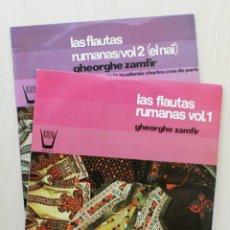 Discos de vinilo: LAS FLAUTAS RUMANAS. VOL 1 Y 2 - GHEORGHE ZAMFIR. (2 VINILOS LP). Lote 135632771