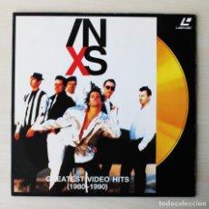 Disques de vinyle: INXS - GREATEST VIDEO HITS (1980-1990). (LASER DISC). Lote 135632889