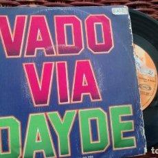 Discos de vinilo: SINGLE (VINILO) DE DAYDE AÑOS 70. Lote 135635147