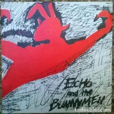Discos de vinilo: ECHO & THE BUNNYMEN. THE PICTURES ON MY WALL/ I'VE READ IT IN BOOKS. ZOO, UK 1979 PRIMER SINGLE. Lote 135635315