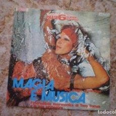 Discos de vinilo: LP. MAGIA Y MUSICA. AÑO 1971. Lote 135645435