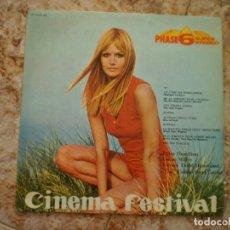 Discos de vinilo: LP. CINEMA FESTIVAL. AÑO 1970. Lote 135645927