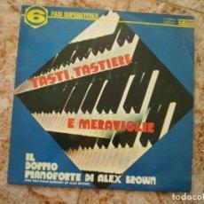 Discos de vinilo: LP. EL EMBRUJO DEL PIANO DOBLE DE ALEX BROWN. AÑO 1969. Lote 135646403