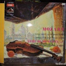 Discos de vinil: MOZART CONCIERTO Nº4 EN RE MAYOR K.218. CONCIERTO Nº6 EN RE MAYOR K.217 A. YEHUID MENUHIN, VIOLÍN. Lote 135650371