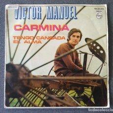 Discos de vinilo: VICTOR MANUEL CARMINA. Lote 135669259