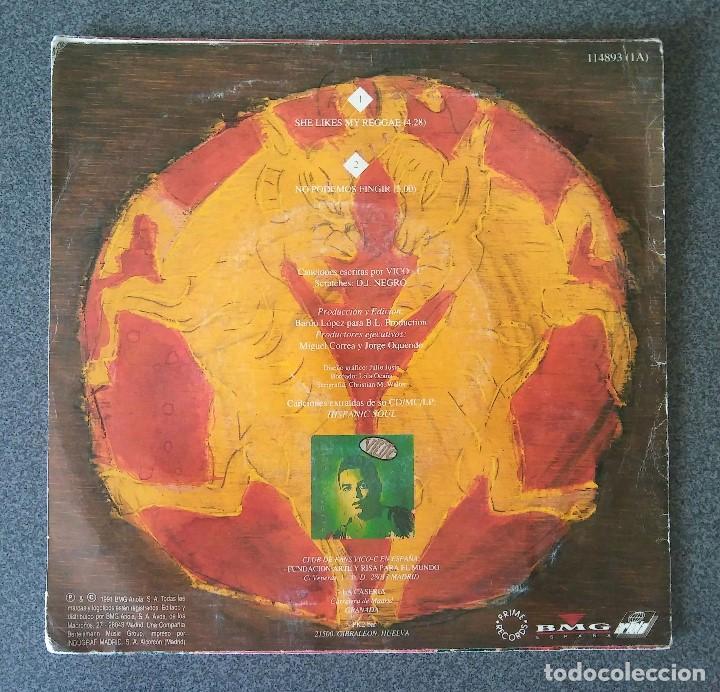 Discos de vinilo: Vico´c She Likes my Reggae - Foto 3 - 135672007