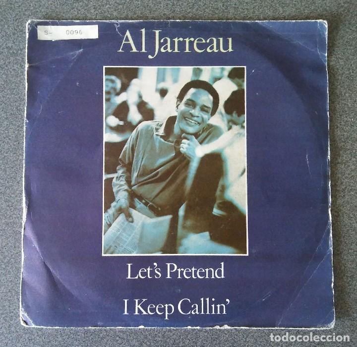 AL JARREAU LET S PRETEND (Música - Discos de Vinilo - EPs - Jazz, Jazz-Rock, Blues y R&B)