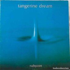 Discos de vinilo: TANGERINE DREAM.RUBYCON. LP ORIGINAL PORTADA ABIERTA LABEL ROGER DEAN. Lote 135673115