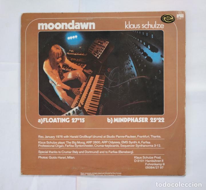 Discos de vinilo: KLAUS SCHULZE. - MOONDAWN - LP. TDKDA38 - Foto 2 - 135676259