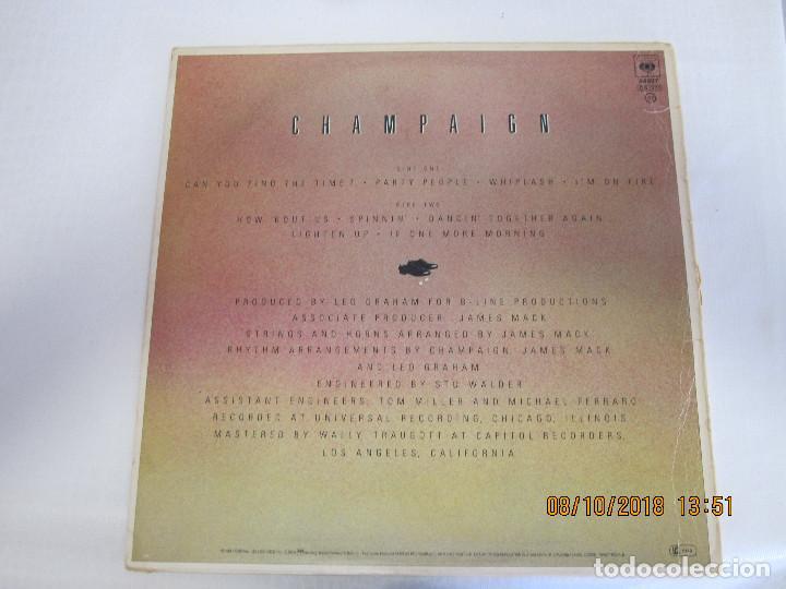 Discos de vinilo: DISCO LP CHAMPAIGN - Foto 2 - 135676899