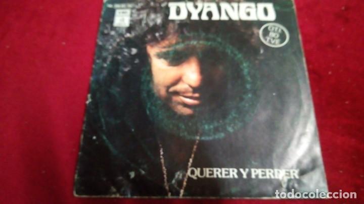 DYANGO - QUERER Y PERDER. CON DEDICATORIA (Música - Discos de Vinilo - EPs - Otros estilos)