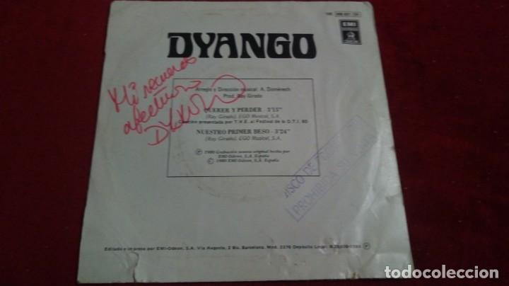 Discos de vinilo: Dyango - Querer y perder. Con dedicatoria - Foto 2 - 135677815