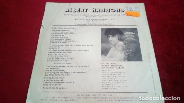 Discos de vinilo: Albert Hammond - Eres toda una mujer - Foto 2 - 135678299