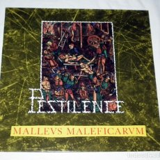 Discos de vinilo: LP PESTILENCE - MALLEUS MALLEFICARUM. Lote 135679175