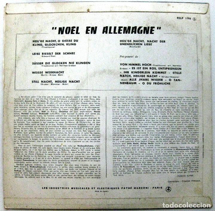Discos de vinilo: Nöel En Allemagne - LP La Voix De Son Maître 196? BPY - Foto 2 - 135683651