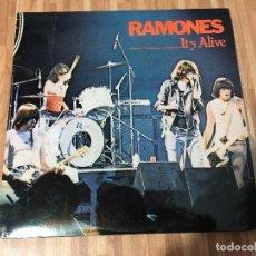 Discos de vinilo: RAMONES – IT'S ALIVE. Lote 135688555