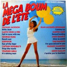 Discos de vinilo: VARIOS (MICHAEL JACKSON/MARVIN GAYE/SURVIVOR...) - LA MÉGA BOUM DE L'ETÉ - LP EPIC 1983 BPY. Lote 135693875
