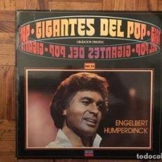 Discos de vinilo: ENGELBERT HUMPERDINCK ?– GIGANTES DEL POP - VOL. 34 SELLO: DECCA ?– 64 95 086 . Lote 135698655