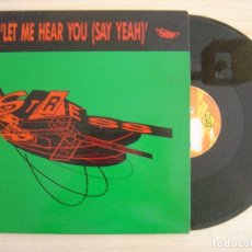 Discos de vinilo: PKA - LET ME HEAR YOU (SAY YEAH) - MAXI-SINGLE 45 - ESPAÑOL 1990 MAX. Lote 135706975