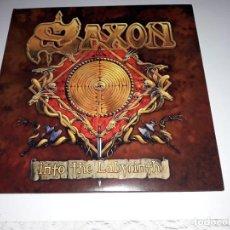 Discos de vinilo: SAXON - INTO THE LABYRINTH - 2X12 LP VINYL GATEFOLD-LP -MAIDEN-DORO. Lote 135723875