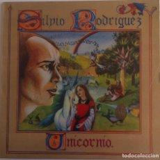 Discos de vinilo: SILVIO RODRIGUEZ - UNICORNIO - LP 1982 AREITO/MOVIEPLAY EDICIÓN ESPAÑOLA. Lote 135733315