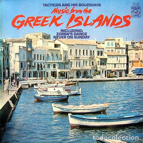 Discos de vinilo: Tacticos And His Bouzoukis – Music From The Greek Islands (UK, 1968) - Foto 1 - 135733951