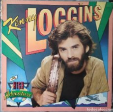 Discos de vinilo: KENNY LOGGINS - HIGH ADVENTURE. LP 1982. Lote 135747350