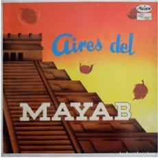 Discos de vinilo: LOS CAMINANTES – AIRES DEL MAYAB - LP MEXICO - MUSART D 68. Lote 135748122
