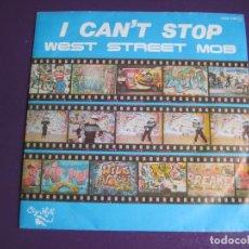 Discos de vinilo: WEST STREET MOB SG ZAFIRO SUGAR HILL 1985 - I CAN`T STOP/ BOOGIE FREAK - HIP HOP RAP PIONEROS - SIN . Lote 135758854