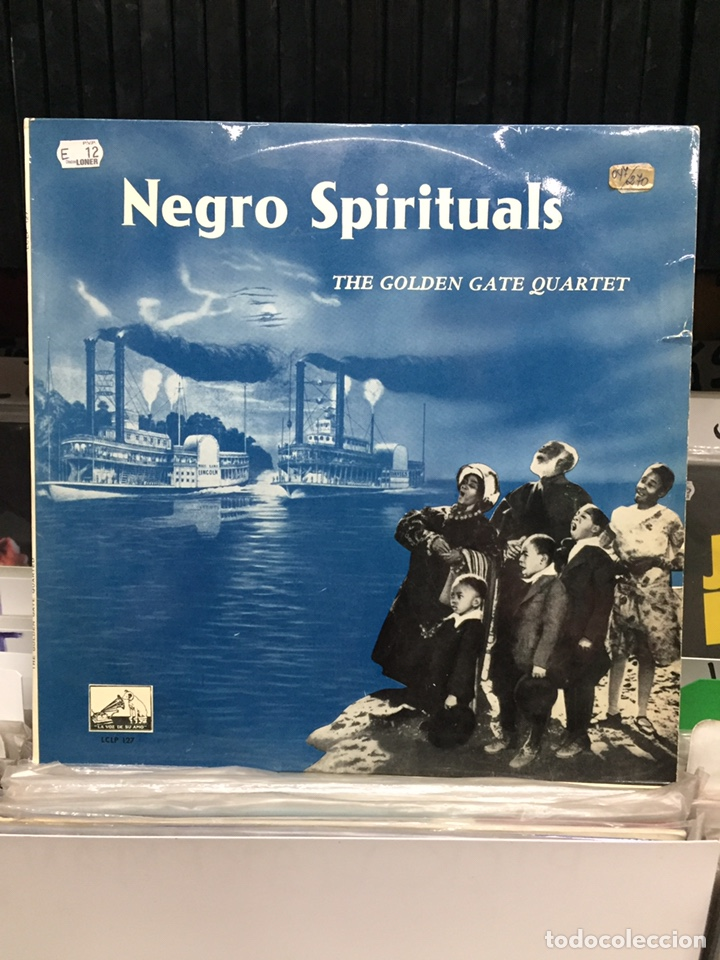 THE GOLDEN GATE QUARTET. NEGRO SPIRITUALS (Música - Discos - LP Vinilo - Jazz, Jazz-Rock, Blues y R&B)