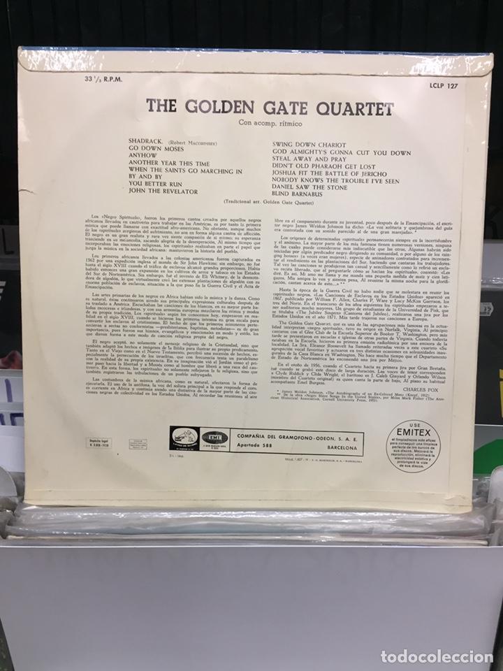 Discos de vinilo: The Golden Gate Quartet. Negro Spirituals - Foto 2 - 135759951