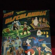 Discos de vinilo: SUPER DISCOLANDIA. DOS DISCOS.. Lote 135765506