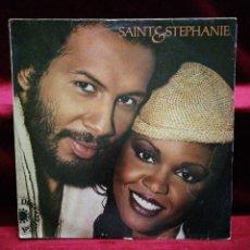 Discos de vinilo: SAINT Y STEPHANIE. Lote 135767462