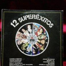 Discos de vinilo: 12 SUPERÉXITOS. Lote 135769314