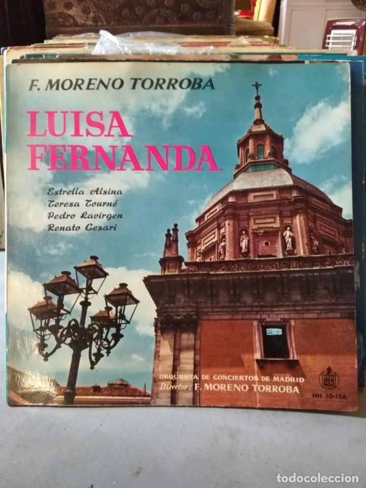 Discos de vinilo: Enorme colección de 60 álbumes de zarzuela y opera. Con libretos la mayoría y algunos dobles. - Foto 2 - 135782654