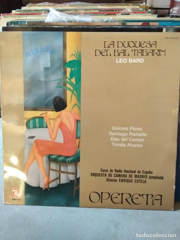 Discos de vinilo: Enorme colección de 60 álbumes de zarzuela y opera. Con libretos la mayoría y algunos dobles. - Foto 3 - 135782654