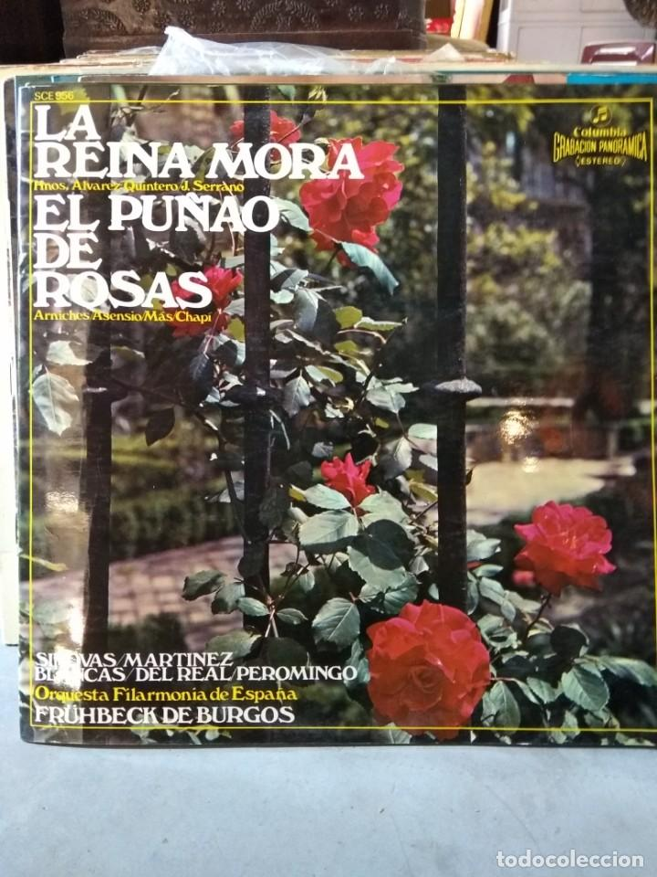 Discos de vinilo: Enorme colección de 60 álbumes de zarzuela y opera. Con libretos la mayoría y algunos dobles. - Foto 7 - 135782654