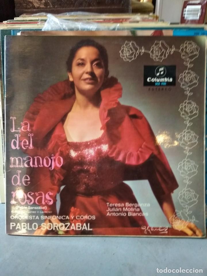 Discos de vinilo: Enorme colección de 60 álbumes de zarzuela y opera. Con libretos la mayoría y algunos dobles. - Foto 8 - 135782654