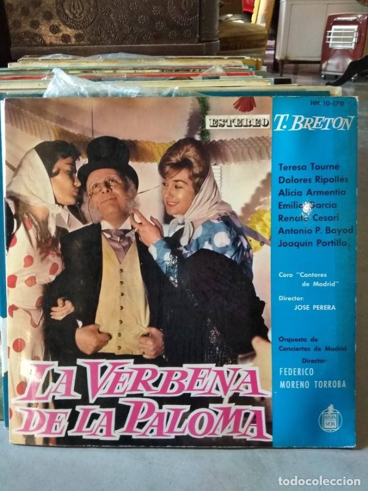 Discos de vinilo: Enorme colección de 60 álbumes de zarzuela y opera. Con libretos la mayoría y algunos dobles. - Foto 9 - 135782654