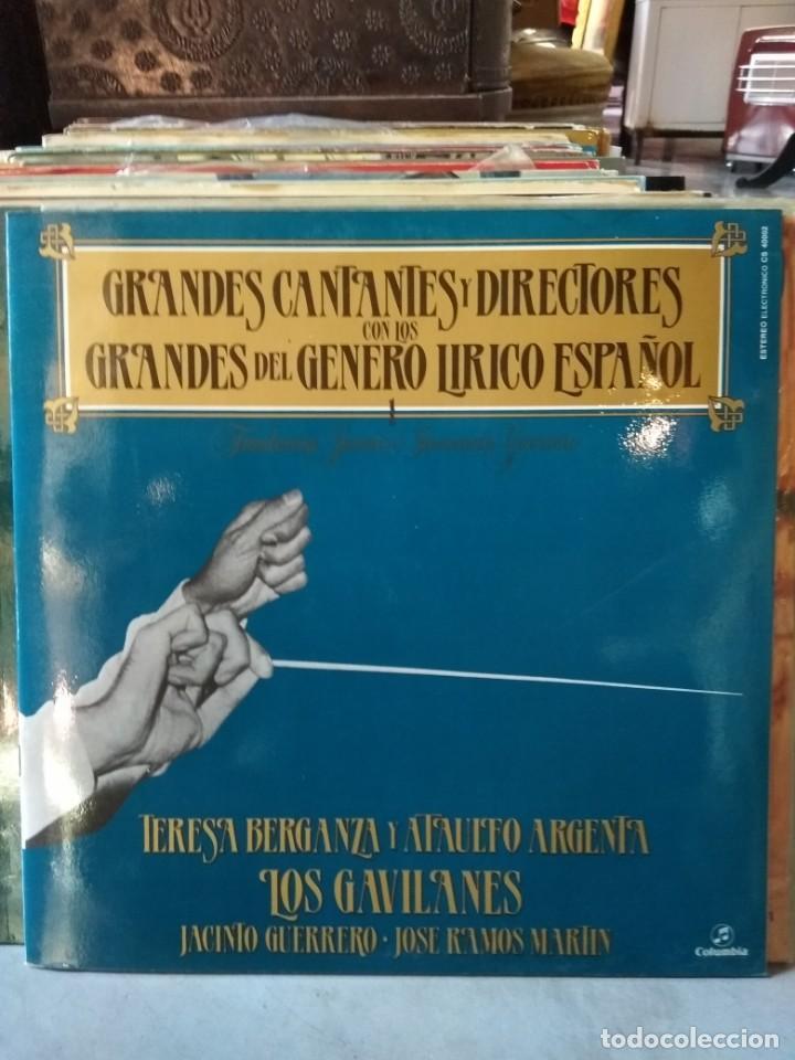 Discos de vinilo: Enorme colección de 60 álbumes de zarzuela y opera. Con libretos la mayoría y algunos dobles. - Foto 11 - 135782654