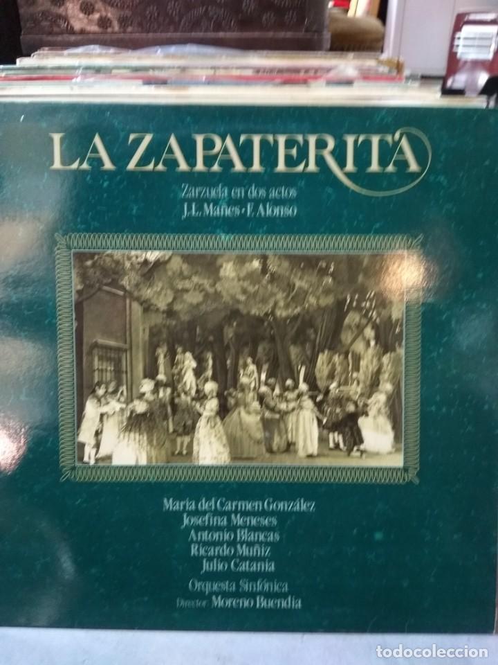 Discos de vinilo: Enorme colección de 60 álbumes de zarzuela y opera. Con libretos la mayoría y algunos dobles. - Foto 13 - 135782654