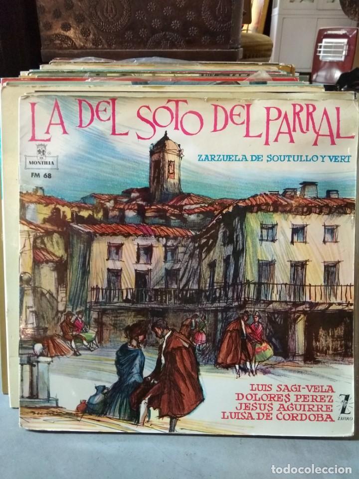Discos de vinilo: Enorme colección de 60 álbumes de zarzuela y opera. Con libretos la mayoría y algunos dobles. - Foto 15 - 135782654