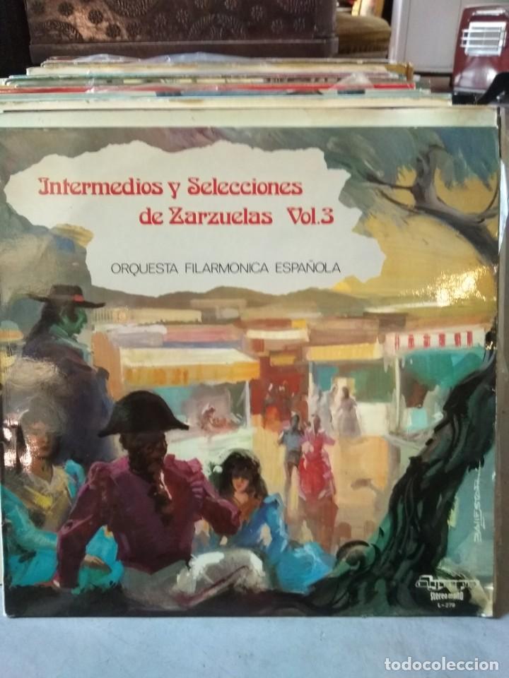 Discos de vinilo: Enorme colección de 60 álbumes de zarzuela y opera. Con libretos la mayoría y algunos dobles. - Foto 16 - 135782654