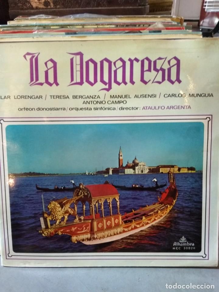 Discos de vinilo: Enorme colección de 60 álbumes de zarzuela y opera. Con libretos la mayoría y algunos dobles. - Foto 17 - 135782654