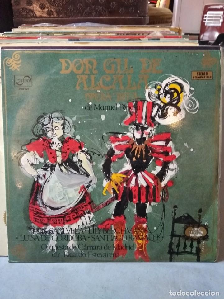 Discos de vinilo: Enorme colección de 60 álbumes de zarzuela y opera. Con libretos la mayoría y algunos dobles. - Foto 18 - 135782654
