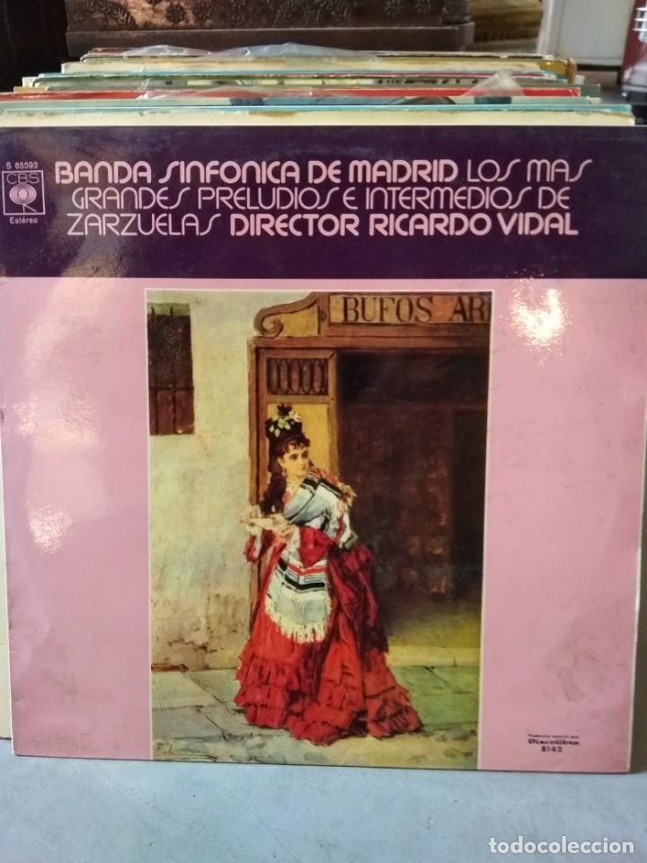 Discos de vinilo: Enorme colección de 60 álbumes de zarzuela y opera. Con libretos la mayoría y algunos dobles. - Foto 19 - 135782654