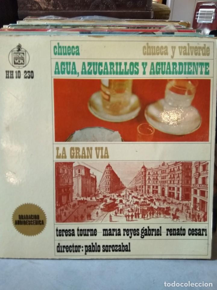 Discos de vinilo: Enorme colección de 60 álbumes de zarzuela y opera. Con libretos la mayoría y algunos dobles. - Foto 20 - 135782654